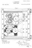 Sargent & Greenleaf Safe-Time-Lock patented on Jul 20 1875