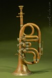 Pocket Cornet with Top Action Rotary Valves in Eb pitch