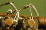 three rotary valve brass instrument