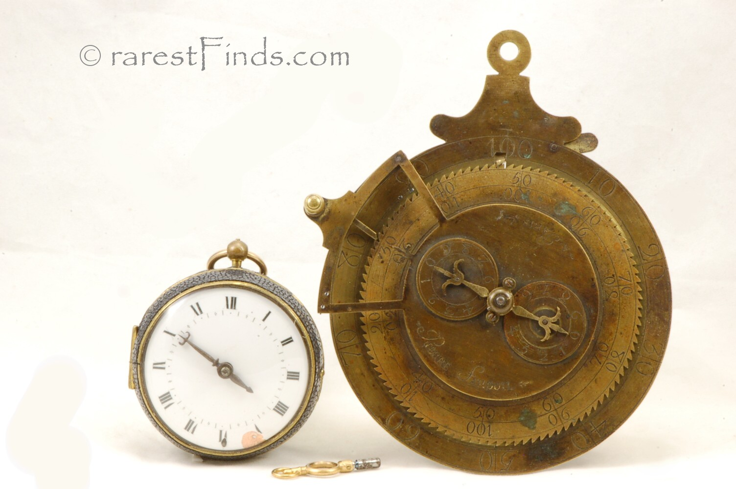 Pierre-Fardoil-Calculator-and-Pocket-Watch-c.1700