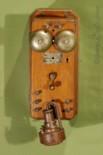 Alexander Graham Bell Coffin Set Telephone
