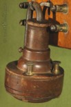 Early receiver and transmitter on Alexander Graham Bell First Telephone