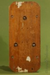 Back Side of Alexander Graham Bell's Telephone manufactured by Charles Williams Boston