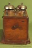 Bottom view of Charles Williams Jr Coffin Set Telephone