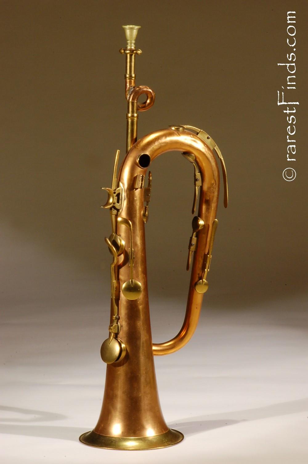 Richardson_&_C0._Rochester_NY_nine_key_bugle